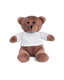 GRIZZLY. Peluche - Bianco