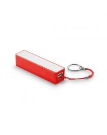 GIBBS. Batteria portatile 2'000 mAh - Rosso