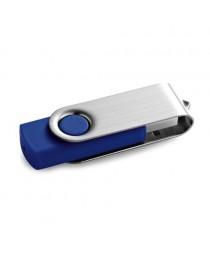 CLAUDIUS 16GB. Chiavetta USB da 16GB - Blu reale