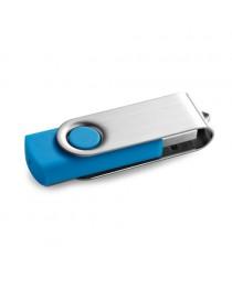 CLAUDIUS 4GB. Chiavetta USB da 4GB - Azzurro