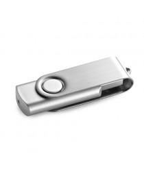 CLAUDIUS 4GB. Chiavetta USB da 4GB - Cromato satinato