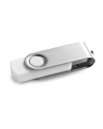 CLAUDIUS 8GB. Chiavetta USB da 8GB - Bianco