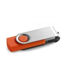CLAUDIUS 8GB. Chiavetta USB da 8GB - Arancione
