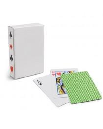 CARTES. Confezione di 54 carte - Verde chiaro