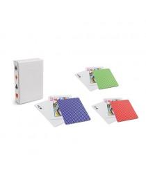 CARTES. Confezione di 54 carte - Blu