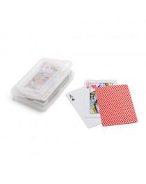 JOHAN. Confezione di 54 carte - Rosso