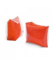 Braccioli gonfiabili PVC opaco/trasparente - Rosso