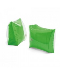 Braccioli gonfiabili PVC opaco/trasparente - Verde chiaro