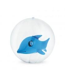 KARON. Pallone gonfiabile - Azzurro