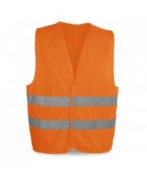 YELLOWSTONE. Gilet ad alta visibilità - Arancione