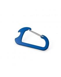 CLOSE. Moschettone con apribottiglie - Blu reale