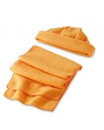 Set sciarpa e cappello - Arancione