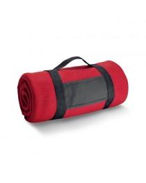 THORPE. Coperta in pile 180 g/m² - Rosso