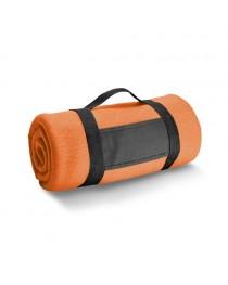THORPE. Coperta in pile 180 g/m² - Arancione