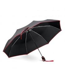DRIZZLE. Ombrello con apertura e chiusura automatiche - Rosso