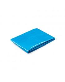 SANDRA. Poncho impermeabile - Azzurro