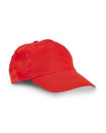 CAMPBEL. Cappellino con visiera - Rosso