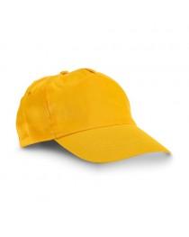 CAMPBEL. Cappellino con visiera - Giallo
