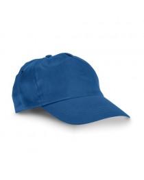 CAMPBEL. Cappellino con visiera - Blu reale