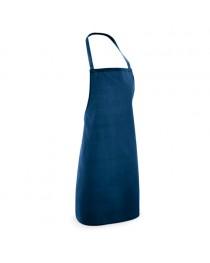 CURRY. Grembiule in cotone e poliestere - Blu