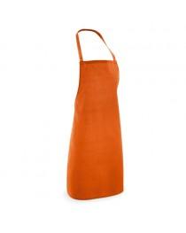 CURRY. Grembiule in cotone e poliestere - Arancione