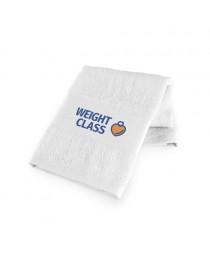 GEHRIG. Asciugamano sportivo in cotone - Bianco