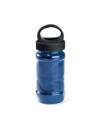 ARTX PLUS. Asciugamano sportivo con borraccia - Blu reale