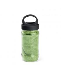 ARTX PLUS. Asciugamano sportivo con borraccia - Verde chiaro
