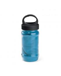ARTX PLUS. Asciugamano sportivo con borraccia - Azzurro
